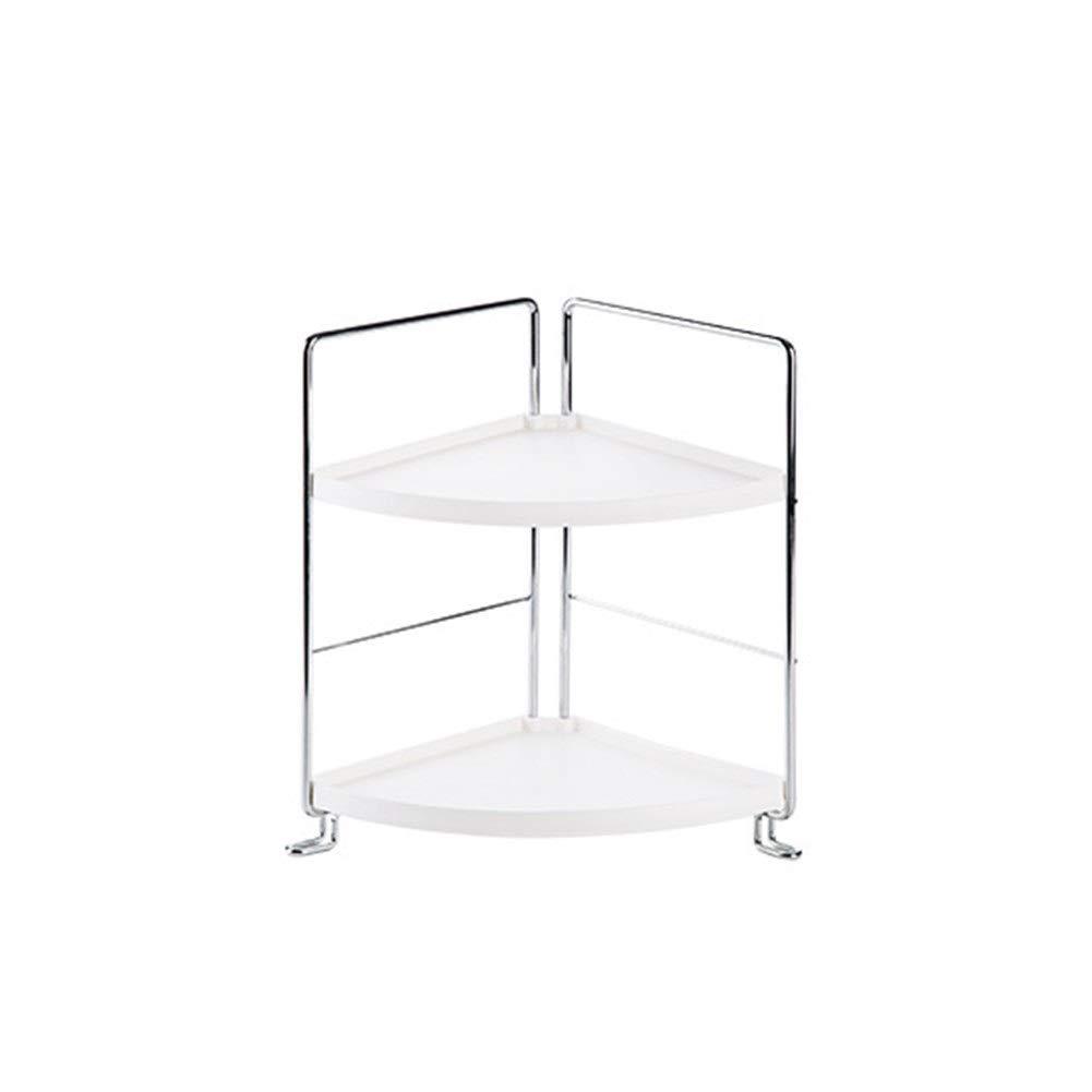 Bathroom shelf Floor multi-layer wash rack Storage rack Sleeve bracket Strong bearing capacity (Size : 16.928.226.8CM)