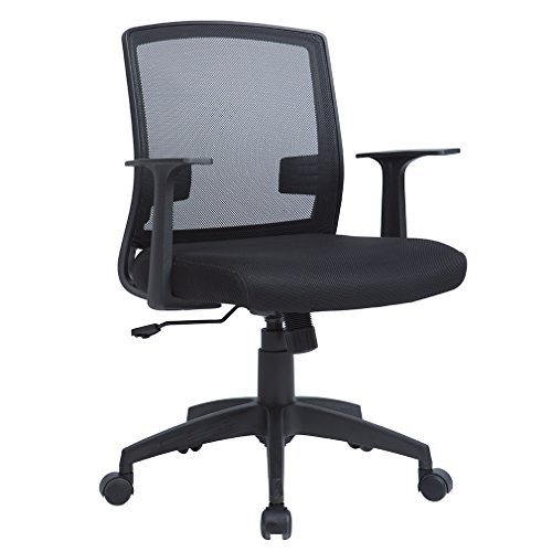 BestOffice Computer Office Desk Ergonomic Mesh Midback Task Chair