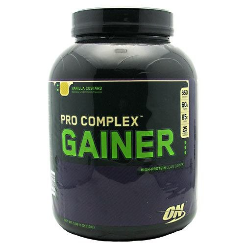 ON Pro Complex Gainer - Vanilla Custard - 5.08 lb (2,310 g)