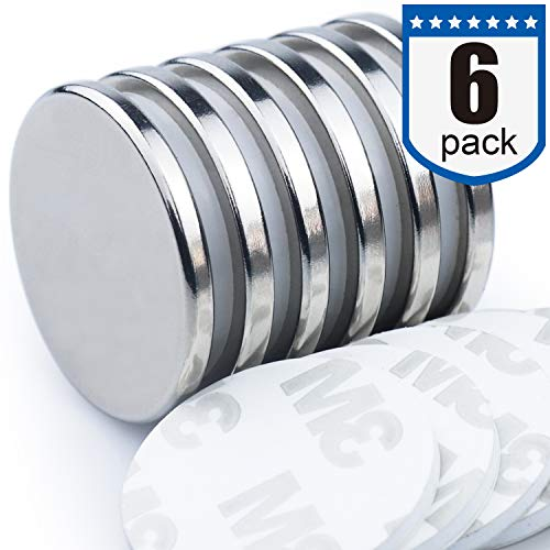 DIYMAG Powerful Neodymium Disc Magnets, Strong, Permanent, Rare Earth Magnets. Fridge, DIY, Building, Scientific, Craft, and Office Magnets, 1.26