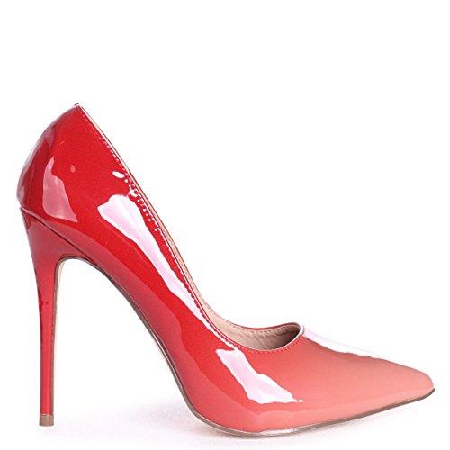 Phoenix - Peach Ombre Effect Stiletto Court Heel Peach RmNG79d