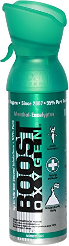 Boost Oxygen- 95% Pure Aviator's Oxygen- 5 liters by Boost Oxygen (Image #9)