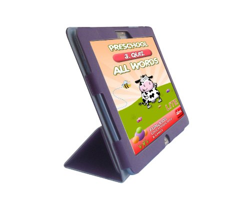 Samsung ATIV Smart PC 500T1C 11.6-INCH PU Leather Folio Cover Case, Purple ()