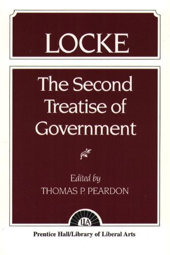an analysis of chapter nine of john lockes second treatise In this section of the treatise -chapter xix- john locke discusses the dissolution  of government, the way in which a people can re-form that government, and the.