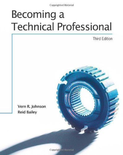 BECOMING A TECHNICAL PROFESSIONAL - TEXT