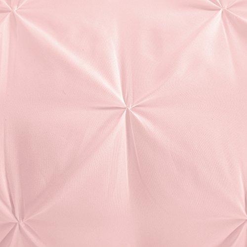 Evolive 4pc Set Pinch Pleat Kiss Comforter Sets