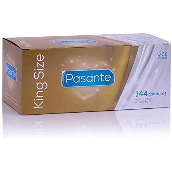 Pasante Condones King Size, pack de 144: Amazon.es: Salud y cuidado personal