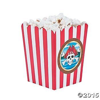 Single Serve Pirate Party Popcorn