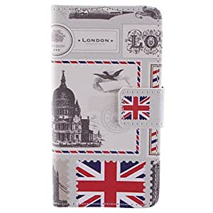 YULIN Stamp PU Leather Wallet Full Body Case with Stand and Card Slot for Samsung Galaxy A3 SM-A300F