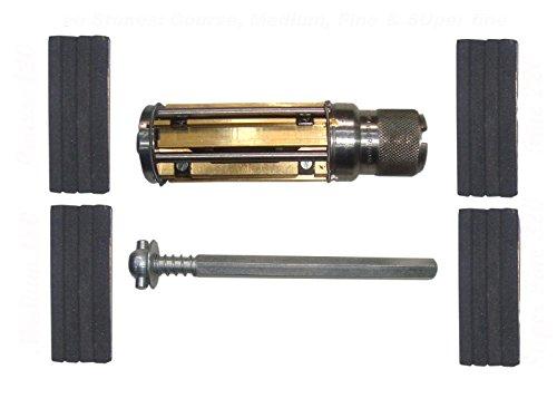 Safedeals365 Atl05003 Brand New Engine Cylinder Hone Kit - 50 to 75 Mm Honing Machine + Honing Stones, Coarse 120, Medium 180, Fine 320+220 (Cylinder Engine Hone Kit)