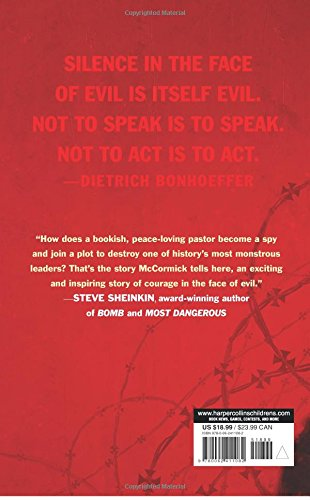 The Plot to Kill Hitler: Dietrich Bonhoeffer: Pastor, Spy, Unlikely Hero by Balzer Bray Harperteen (Image #1)