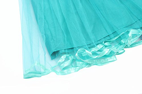 Loel Girls Little Mermaid Cosplay Dress Short Sleeve Costume