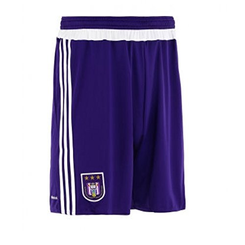 2015-2016 Anderlecht Adidas Home Shorts (Purple) Purple