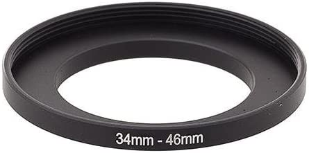 Adorama Step-Up Adapter Ring 34mm Lens to 46mm Filter Size