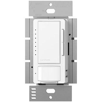 Lutron Maestro C L Dimmer And Motion Sensor Single Pole
