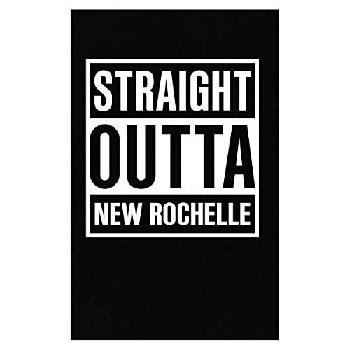 Inked Creatively Straight Outta New Rochelle City Poster -