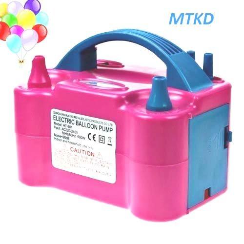 Inflador Eléctrico de Globos MTKD Bomba electrica para Inflar Globos Ideal para
