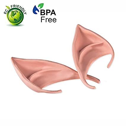 Halloween Costume Party Fake False Elf Fairy Hobbit Pointed Long Ears Tips Cover