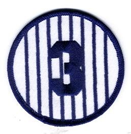 Babe Ruth Yankees Number