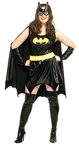 Women's Batgirl Costume Dc Comics Sassy Halloween