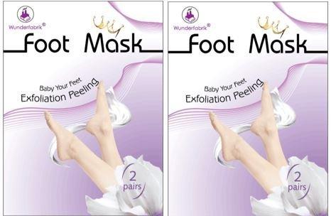 Máscara para los pies para éliminer la cuerno, peeling para pies, máscara Peeling, 2pares Happyplast