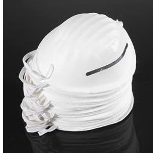 pozo-meta 100 pc Polvo Mascarilla Desechable Limpieza Moldeado De La Cara Seguridad Respirador Limpio