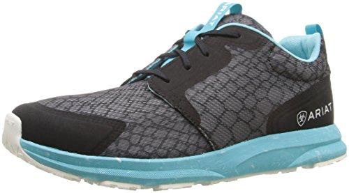 Ariat Women's Fuse Athletic Shoe Grey Snake Mesh