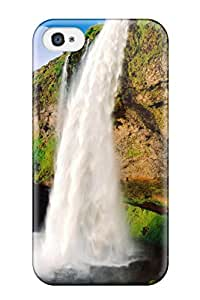 Excellent Design Waterfall Phone Case For Iphone 4/4s Premium Tpu Case