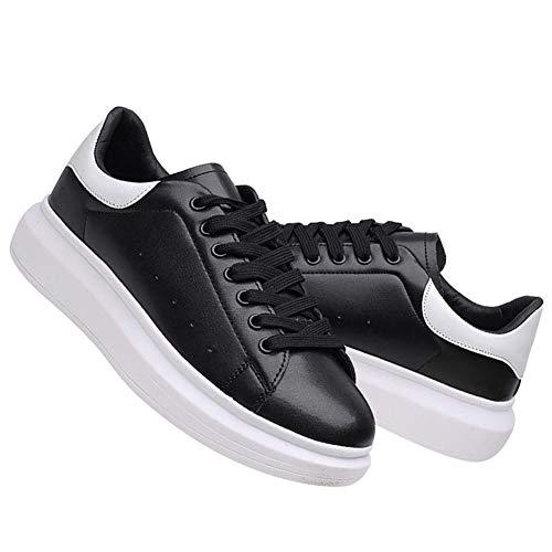 Sneaker Allacciare Moda Fitness Piattaforma Medio Scarpe Nero Rismart Tacco Donna Cq0SwB