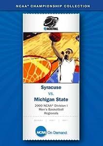 2000 NCAA(r) Division I Men's Basketball - Syracuse vs. Michigan State