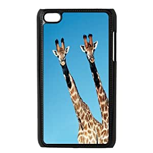 UNI-BEE PHONE CASE FOR IPod Touch 4th -Giraffe Design-CASE-STYLE 5