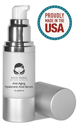 Acide Hyaluronique Sérum à la vitamine C, A, D, E ~ Meilleur Anti Aging Cream & Anti-Rides Hydratant ~ 60 jours de garantie ~ Botox Alternative Soins de la peau pour hommes et femmes ~ avantages? Stimule le collagène, A un Fermeté Hydratant Effet Quels re