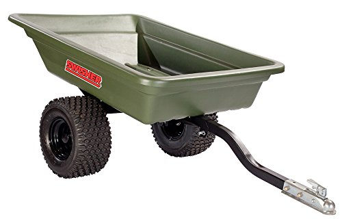 bic Foot Multi-Purpose 1,000-Pound Capacity Poly Dump Trailer (Swisher Atv Bucket)