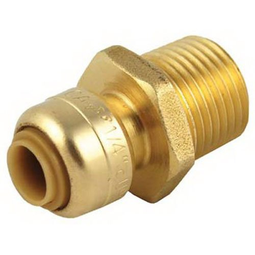 SharkBite U110LFA Reducing Connectors 1//4-Inch by 1//2-Inch