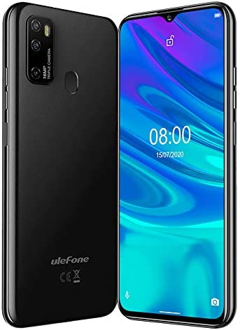 Factory Unlocked 4G Smartphone Ulefone Note 9P, Dual Sim Unlocked Cell Phones 6.52' IPS Display,4GB+64GB Android 10 16MP+5MP+2MP+8MP Quad Camera, GSM Unlocked Phone, 4500Mah,Face ID, GPS, WiFi (Black) WeeklyReviewer