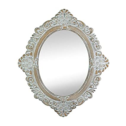 Amazon.com: Accent Plus Wall Mirrors Decorative, Oval Large Antique ...