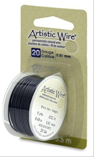 Artistic Wire 20 Gauge Black 6 Yards
