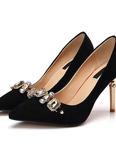 GGX/Damen Schuhe Kaschmir-Fall Heels/spitz Toe Heels Büro & Karriere/Sparkling Glitter pink-us6.5-7 / eu37 / uk4.5-5 / cn37