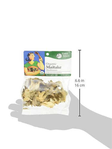 Terra Dolce Organic Maitake Mushrooms, 0.5 Ounce