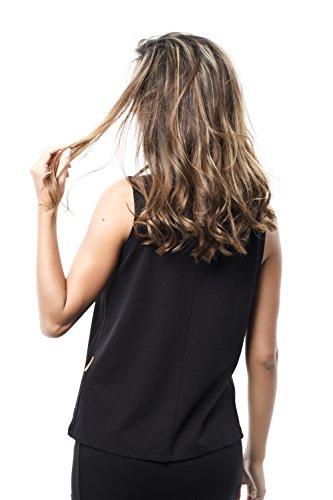 Negro Camiseta black Mujer Para Revellata Mamatayoe xwpWvq6OFp