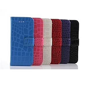 Alligator Pattern Wallet Leather Case for iPhone 6(Assorted Colors)