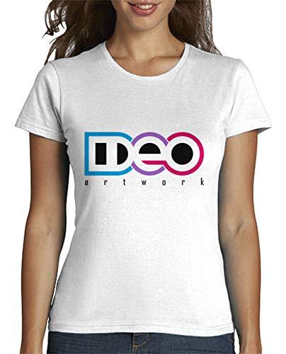 Latostadora Logo Camiseta Mujer Para Blanco Ideo rRrxga