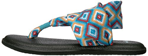 Yoga Traq Ranch Multicolore Tongs Sling Sanuk Prints 2 Femme the gw1aadqz