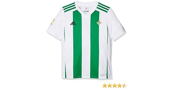 adidas Betis H JSY Y Camiseta de Equipación, niños, Blanco, 116: Amazon.es: Ropa y accesorios