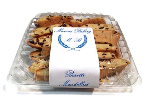 Mamas Bakery Biscotti Mandelbrot (Gluten Free, 3 (Biscotti Favors)