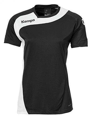 Kempa Damen Bekleidung teamsport peak trikot, schwarz/weiß, S, 200305604
