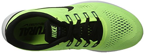 Nike Free RN Ghost Green/Black/Blue Moon Mens Running Shoes by Nike (Image #7)