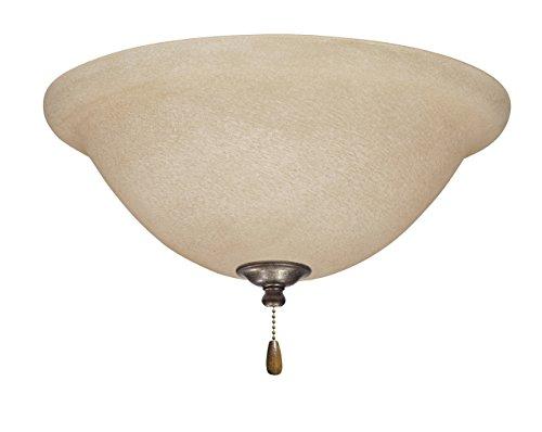 Emerson Ceiling Fans LK70VS Amber Mist Light Fixture for Ceiling Fans, Medium Base (Flush Amber Mist)