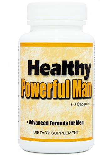 Healthy Powerful Man - Semen Volumizer | All-Natural Ejaculant Pills | Male Fertility Enhancement Supplements with Assorted & Effective Herbs | Ejaculant Enhancement Formula for Men - 60 Count (1)