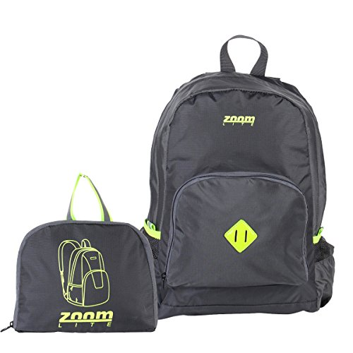 Ultra Light Water Resistant Packable Day Pack, by Zoomlite Gray